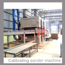 heavy duty MDF/particle board/HPL calibrating sanding machine