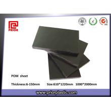 Folha de POM de plástico de engenharia de alta densidade