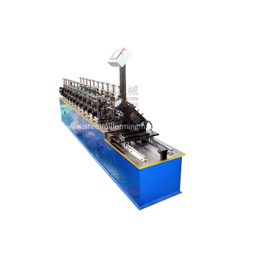 Metal U Track Roll Forming Machine