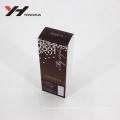 clear window shining printing cosmetics packaging pvc box