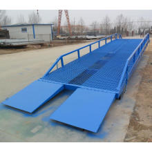 10T Loading yard ramp,container ramp for forklift