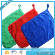 High water absorbation 40*40cm plush microfibre towels for carwash