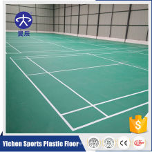 Customizable table tennis flooring production