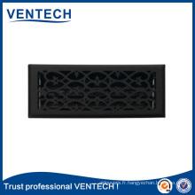 Grille d'air de plancher de fabrication exquise pour l'usage de ventilation