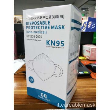 KN95 Face Mask GB2626-2006 5Ply Ear Loop 100PCSBox