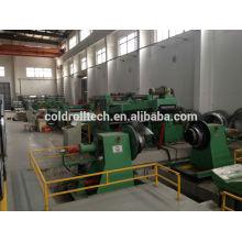 Cut to Length Line für kaltgewalzten Stahl, verzinkten Stahl