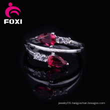 Hot Sale Fashion Jewelry 2016 Rose Gold Plated Wedding Rings