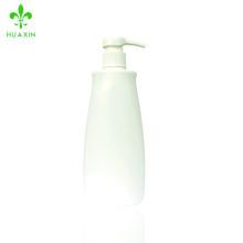 Chaleur ventes personnalisé imprimé marque blanche en plastique PE shampooing bouteille bain lotion bouteille