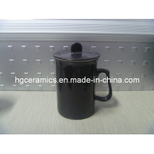 Color Change Tea Cup with Cap, Color Change Mug with Lid