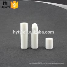 Mini rollo plástico claro vacío cosmético al por mayor de 5ml en la botella para el aceite esencial