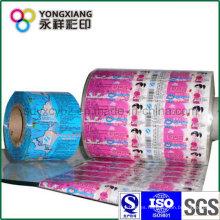 Rollo de película de envases de plástico para productos diarios