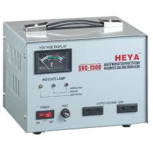 SVC 1500VA Servo Motor Control Automatic Voltage Regulator / Stabilizer