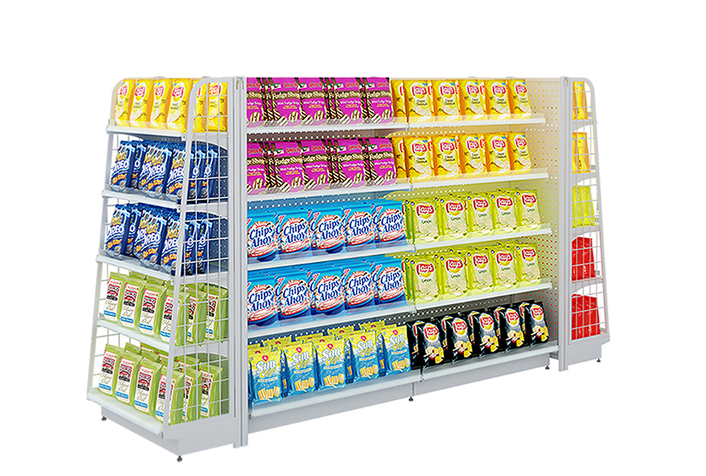 Gondola Shelf For Retail