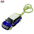Metal vintage custom car keychain comel