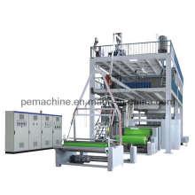 Automatic Non-Woven Fabrics Film Blowing Machine Set (CE)