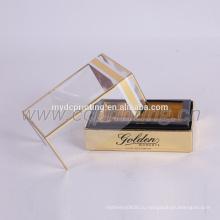 коробка креативная упаковка духи с пластиковой крышкой