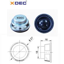 27mm 4ohm tragbarer Lautsprecher