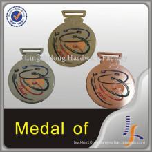 Medalla de metal de Omán con grabado de logotipo personalizado