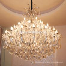 Arcos de vidrio estilo americano araña de cristal decoración del hogar Patriot Designer colgante de iluminación