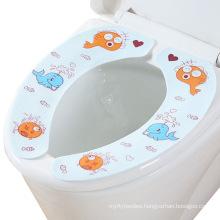 Paste Type Reusable Toilet Seat Cushion