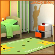 Green Style Nylon Printed Kids Carpets