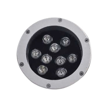 LED 9PCS taklampa