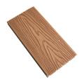 Barefoot-Friendly WPC Decking Board Wood Texture Hardwood Flooring Lumber Outdoor Composite WPC Decking Wooden Floor