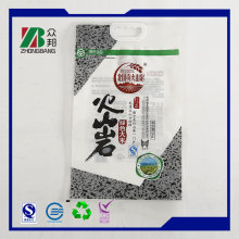 Alibaba PP Woven Rice Bag 25kg with Transparent Material