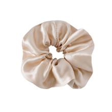 Scrunchie de seda 100% pura ecológico personalizado de alta calidad