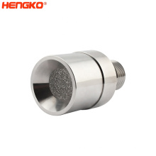 Stainless Steel 316L porous explosion proof semicondector gas sensor housing for co2 sensor