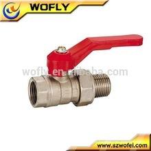 Válvula de esfera de aço inoxidável da alta qualidade dn20 1pc válvula da água 1000wog