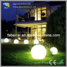 Ball Form LED Licht für Pool Garten Outdoor