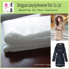 Customers Polyester Interlining/Padding for Garment/Jacket