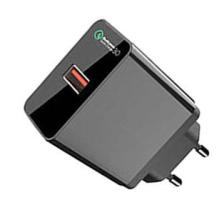 Quick charge 3.0 USB wall charger (DC/24W), mobile phone charging station, CB, FCC CE RoHE Certifications