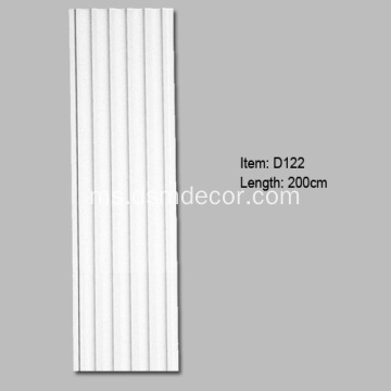 Polyurethane Fluted Decorators