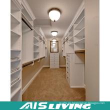 Armario de color blanco personalizado Walk In Closets (AIS-W353)