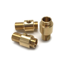 CNC Machined Copper Fitting Connector