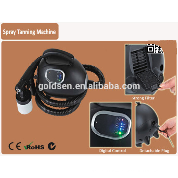 Home Mini Body Tanning Bed Machine System Handheld Tan Spray Gun Portable Indoor Professional HVLP Body Spray Tan Machine