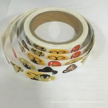 Выдвиженческие бумажные наклейки для животного рога