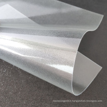 24Inchx54Inch Clear Plastic Frosted PVC Sheet For UV Offset Printing