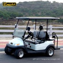 Batterie de Troie 4 places chariot de golf électrique pas cher club voiture golf buggy chariots