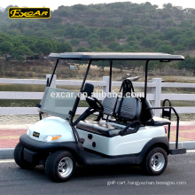 Trojan battery 4 seater electric golf cart cheap club car golf buggy carts