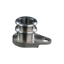 Piezas de tubo de escape de acero mecanizadas por CNC para automóviles