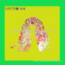 Mantón viscosa de la bufanda de las mujeres largas de la flor de la manera larga con alta calidad