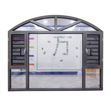 Aluminum window burglar designs hurricane proof industrial windows