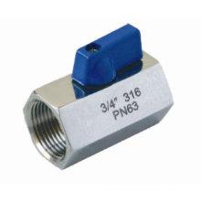 Good Price Stainless Steel 316 Mini 1PC Ball Valve