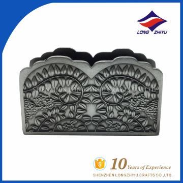Großhandel Metall benutzerdefinierte Name Kartenhalter