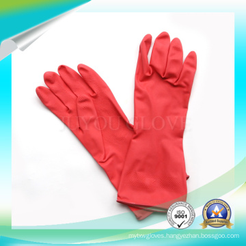 Latex Anti Acid Working Gloves for Washing Stuff with High Quality