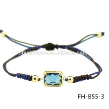 Einstellbare exquisite chinesische Harz Zirkon Armband