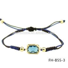 Bracelet zircon résine chinoise exquise réglable